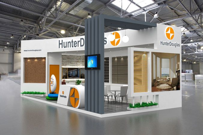 Why does an exhibition stand design need to be unique?